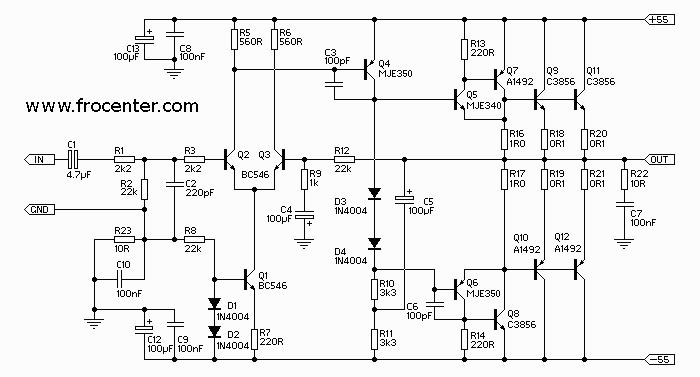 Транзисторный усилитель мощности